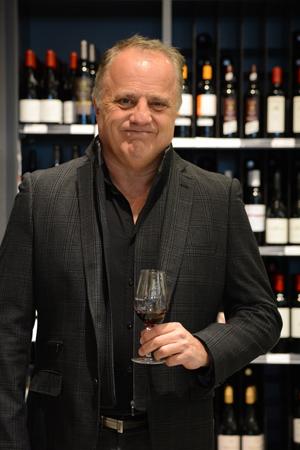 Marc Blais, président d'honneur du 16e Salon des vins et des saveurs régionales de Rouyn-Noranda